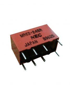 رله 24 ولت دو کنتاکت NEC کد MR62-24SR