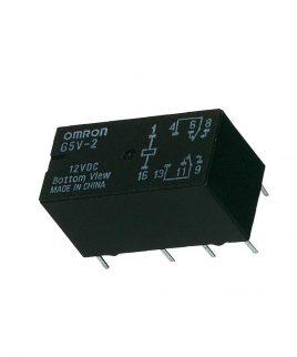 رله 12 ولت 2 آمپر OMRON G5V-2-DC12