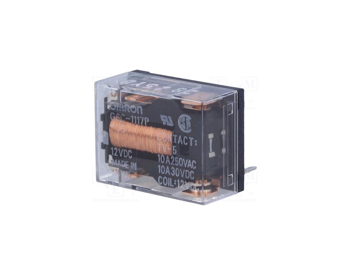 رله 24 ولت تک کنتاکت OMRON مدل G6C-1117P-US