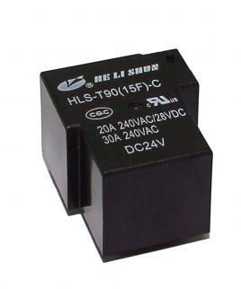 رله 24 ولت تک کنتاکت HLS-T90