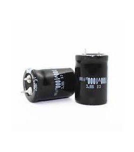 خازن الکترولیت 1000 میکرو فاراد 100 ولت 1000uf-100v