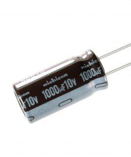 خازن الکترولیت 1000 میکرو فاراد 10 ولت 1000uf-10v