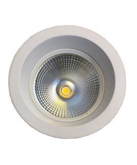 چراغ آماده سیلندری توکار ۱۶۰ به ۱۹۰ ۲۰ وات