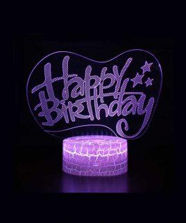 چراغ خواب طرح تولد HAPPY BIRTH DAY