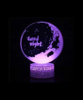 چراغ خواب طرح GOOD NIGHT