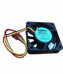 فن 12 ولت بلبرینگی 6 در 6 سانتی NIDEC