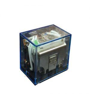 رله ly4 مدل 110 ولت 10 آمپر 4 کنتاکت باز و بسته