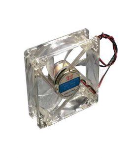 فن 12 ولت 8 در 8 سانتی led دار (ال ای دی)