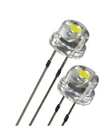 LED کلاهی چیپ بزرگ سفید
