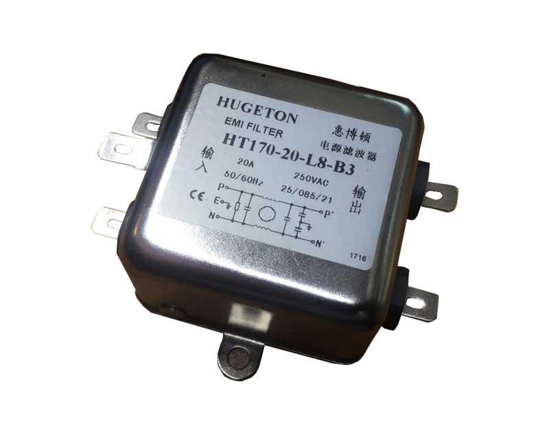 نویز فیلتر 20 آمپر HUGETON مدل HT170-20-L8-B3
